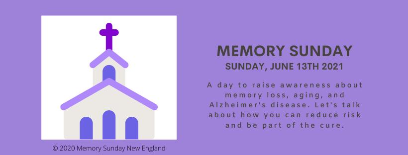 Memory Sunday Web Banner