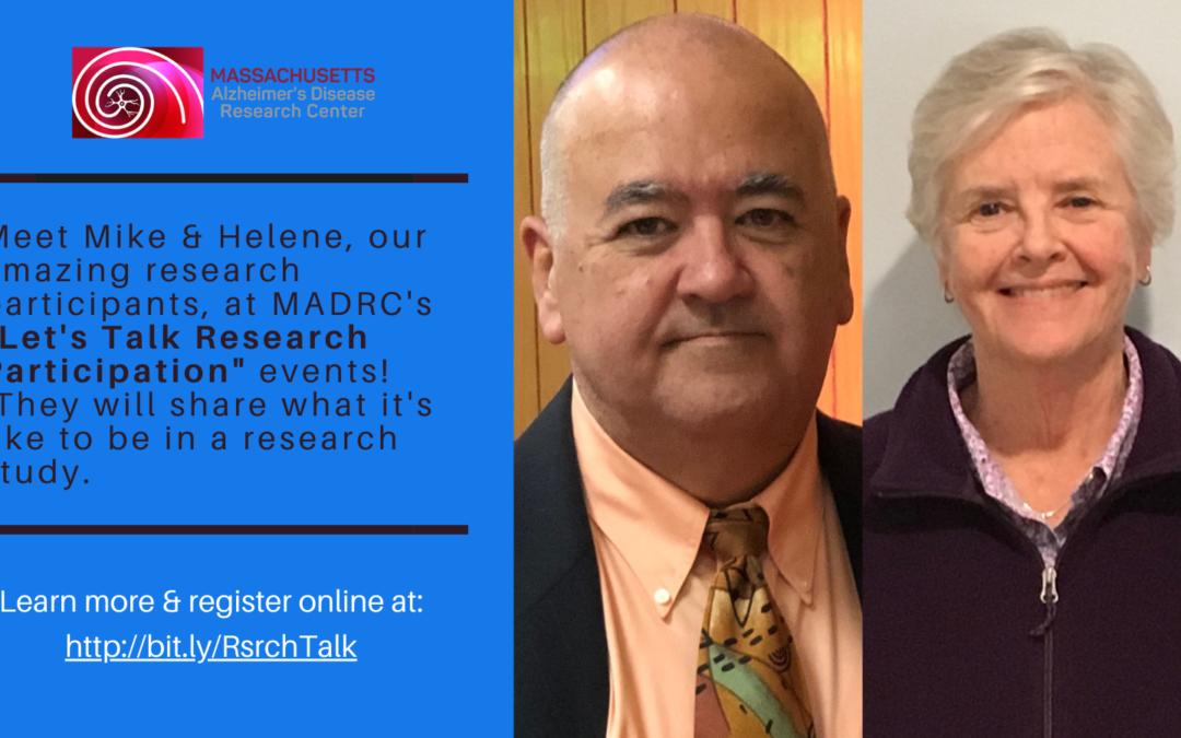 Let's Talk Research Participation!